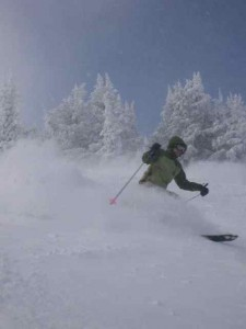 Wolf Creek Powder Day