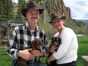 Hosts Keith and Laurie and Their Pups