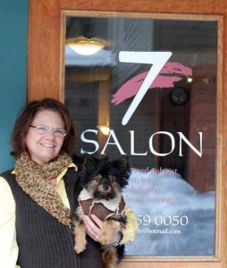 Rosa Lea and Jackson from Salon 7