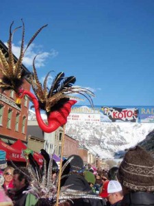 End-of-KOTO Street Dance in Telluride:  One of Many Mountain Celebrations to Mark the End-of-the-Season