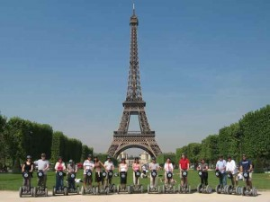 The Segway Peloton of Paris