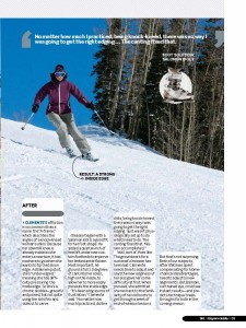 Schussing for SKI Magazine