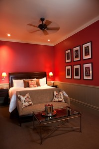 Wrapped in Red at the New Sheridan Hotel