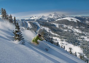 Telluride Ski Resort Backdropped by the Majestic San Juan Mountains of the Rockies