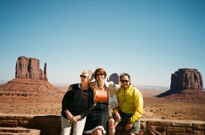 The Folks and Me at Monument Valley