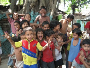 Children in India from the Happy Movie, Many Considered to Be Happier than American Children