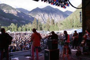 Telluride House Band Including Sam and Béla at Bluegrass