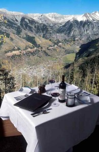 Table with a View at Allred's