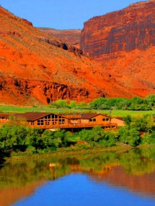 Red Cliffs Lodge in Moab