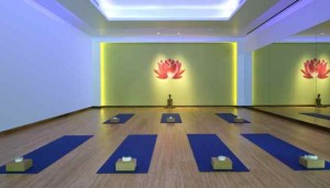 The Westin Riverfront's Yoga Studio
