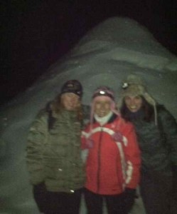 The Three Marys in Front of the Igloo