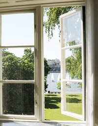Room with a Splendid View at Hotel Skeppsholmen in Stockholm