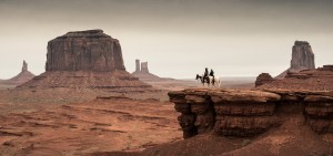 The Lone Ranger and Tonto in Monument Valley