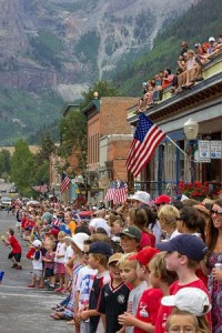 Telluride Celebrating America's Birthday