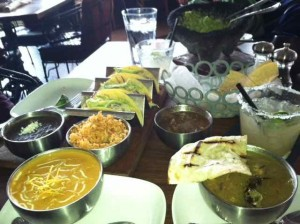 Our Noon Hour Spread at Venga Venga