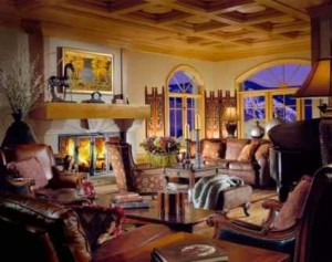 Cordillera Lodge:  The Perfect Setting for Cozying Up Fireside with the Pups
