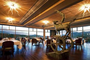 Sophisticated Setting at Palmyra Restaurant at The Peaks