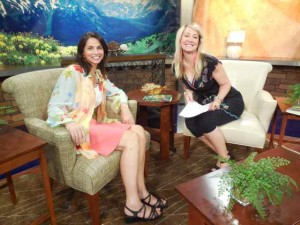 With Tanya Rush During the Colorado & Company Interview