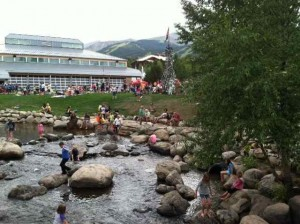 The Breckenridge Scene During After the Race