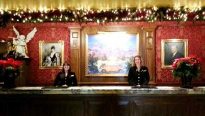 Front Desk at The Broadmoor