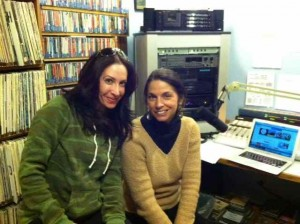 Marla and Me in the KOTO Studio