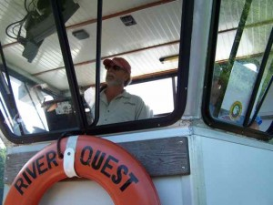 Another Boat Captain:  Captain Mark from River Quest