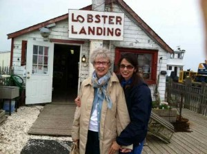 Mom and I at One of Our Favorite Culinary Discoveries of Our Trip