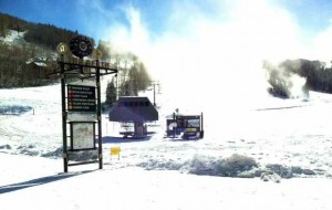 Snowmaking on Top of Fresh this Week at Telluride Ski Resort---YES