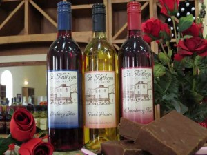 Every Girl's Fantasy:  Fruit Wines and Fudge from St. Kathryn Cellars