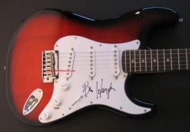 Ben Harper's Guitar from The Autograph Source