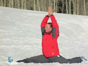 André Koslowski:  Ski Instructor/Yoga Teacher Extraordinaire