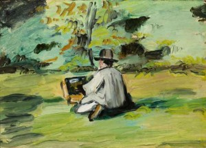 A Painter at Work by Paul Cézanne