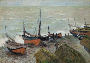 Fishing Boats by Claude Monet