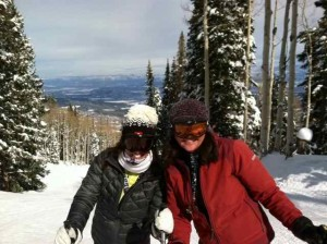 Me and Paula at Powderhorn