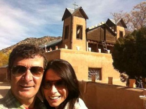 Steve and Me at Chimayo