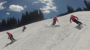 Southern Synchro Skiing It