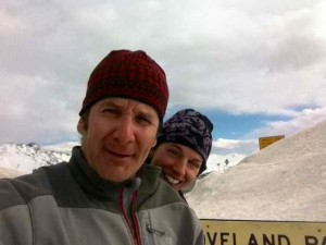 Steve and Me at Loveland Pass/Continental Divide