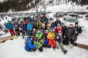 Part of the Tailgate Brigade at A-Basin