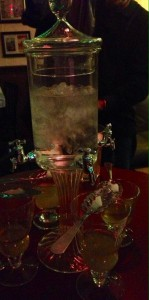 Absinthe:  A Good Networking Lubricant