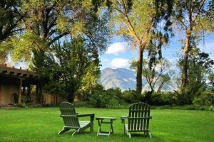 Contemplating Nature's Beauty at Hacienda del Sol in Taos