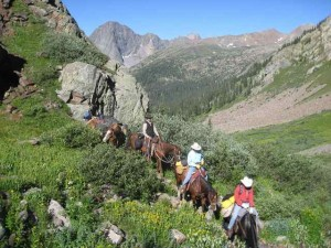 The Great Colorado Outdoors:  Where Life is Best Viewed from a Horse
