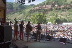 Punch Brothers on Stage at the Telluride Bluegrass Festival