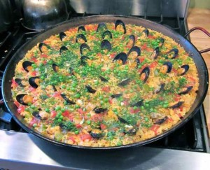 The Village Table Paella