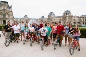 The Paris Fat Tire Bike Tour Peloton