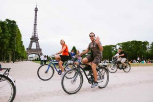 Touring Paris on a Bike:  A Great Way to See One of the Most Beautiful Cities in the World