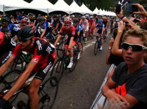 The Start of the USA Pro Challenge in Aspen