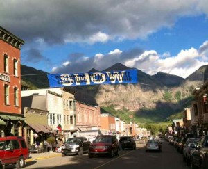Telluride:  A Beautiful Spot for a Film Festival