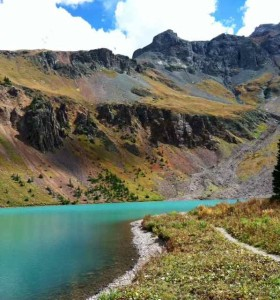 Lower Blue Lake Touting Turquoise