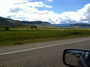 On the Road from Crested Butte to Gunnison, Colorado