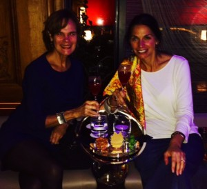 Drinks with Michèle, My Franco-American Friend, at the Plaza Athénée